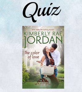The Color of Love Quiz- Kimberly Rae Jordan
