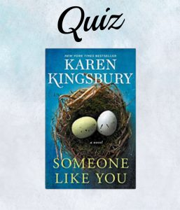 Someone Like You Book Cover- Karen Kingsbury