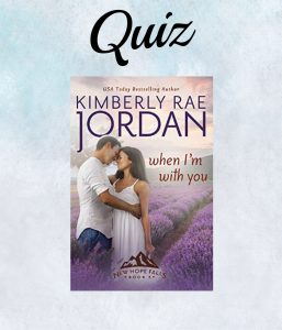 When I'm With You Book Cover- Kimberly Rae Jordan