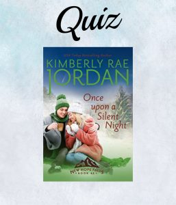 Once Upon A Silent Night Book Cover- Kimberly Rae Jordan