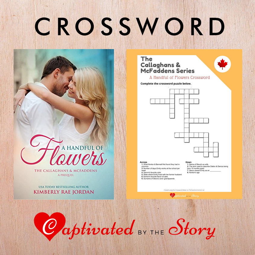 A Handful of Flowers Crossword- Kimberly Rae Jordan