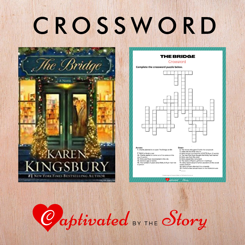 The Bridge Crossword- Karen Kingsbury