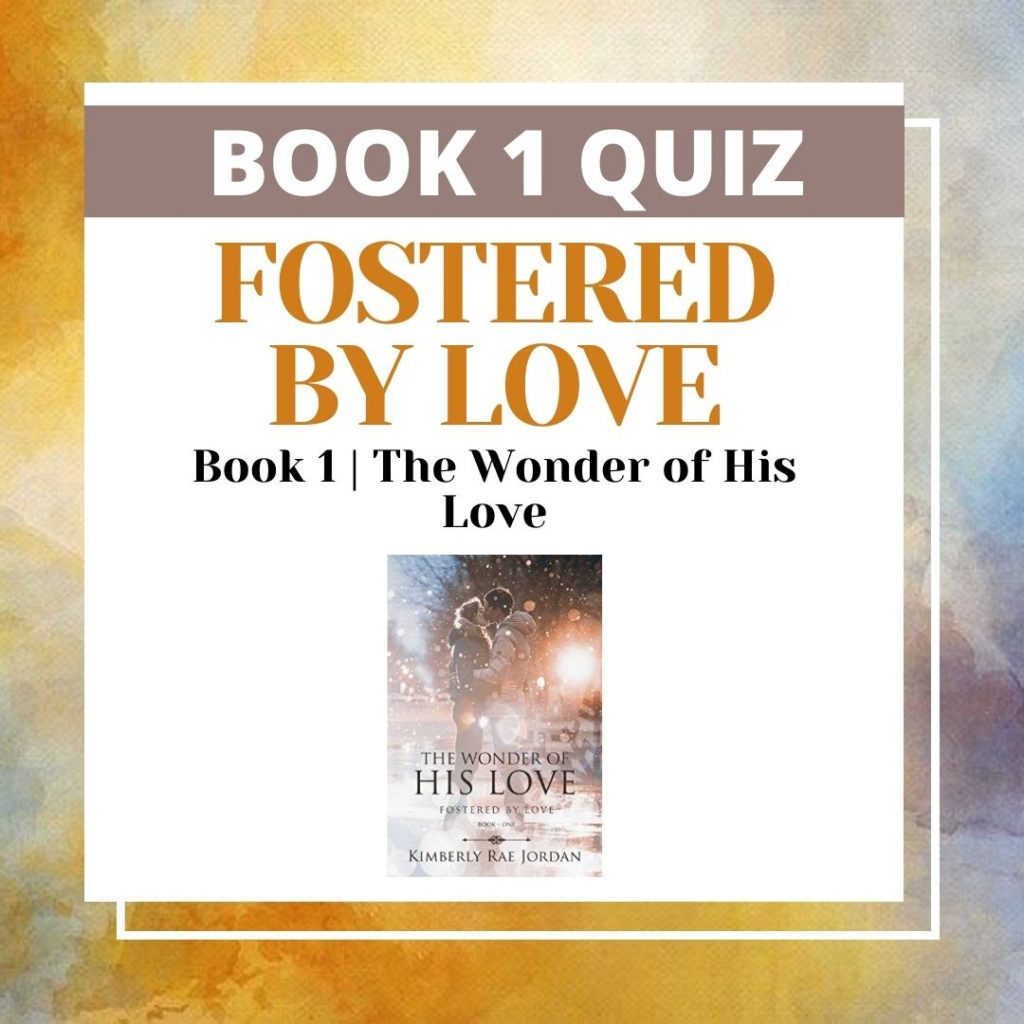 The Wonder of His Love Quiz- Feature Image