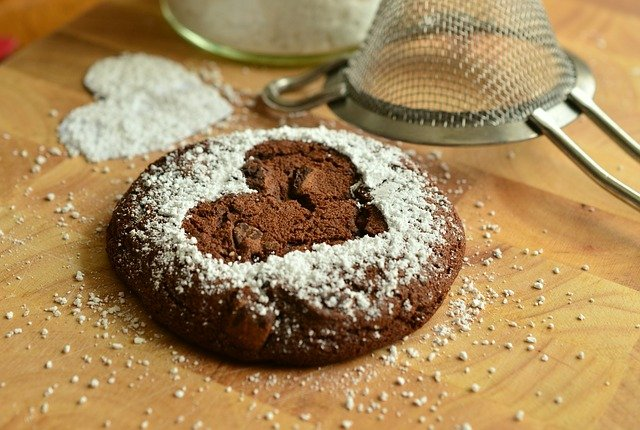 the strength of their love book quiz- chocolate cookie